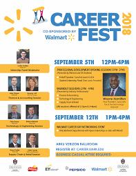 Career Fest 2018 Co Sponsored By Walmart University Of