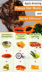 papaya hair mask
