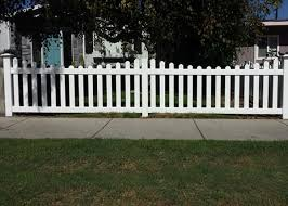 vinyl picket fence front yard. Beautiful Fence Ju0026J Fence Vinyl Gallery  Installation Los Angeles  County CA On Picket Front Yard