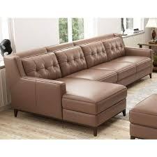 leather l shape sofa konga