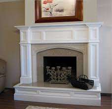 living room fireplace mantel surround kit elegant electric and faux kits pertaining to 13 from