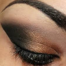 unlike blue shadow with blue eyes it s actually very ideal to match up diffe shades of brown with your brown eyes if you have darker brown eyes