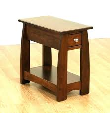 cool dark wood end table small cherry living room large size of rectangular side ending with drawer explained uk dog suffering bookend