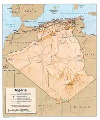 algeria maps  perrycastañeda map collection  ut library online