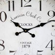 pocket watch style wall clock black