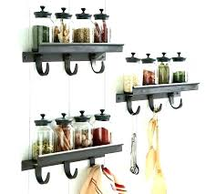 decoration wrought iron wall shelves shelf rack kitchen e bathroom