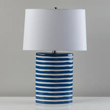 blue and white lamps. Blue Nautical Table Lamp Decor By Color With And White Lamps Ideas 18 I