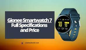 Gionee Smartwatch 7 Full Specifications ...