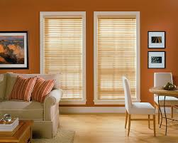 Living Room Decorative Interior How To Setting Matchstick Blinds Design For Your Window