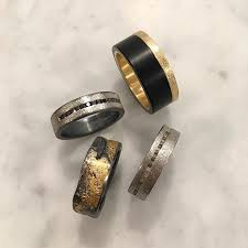 todd reed jewelry mens wedding bands mens jewelry mens raw diamond ring mens black jade wedding band palladium gold textured street style mens