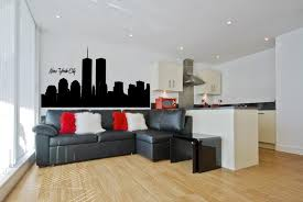 world trade center new york city skyline wall decal