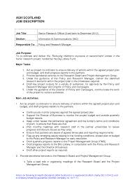 How To Write Job Profile In Resume Job Description Job Description Forms Pinterest Job Description 19