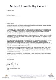 Australian Business Letter Template Professional Samples Templates