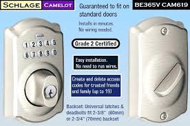 schlage electronic locks. Schlage Electric Door Lock Best Electronic Blinking Red . Locks