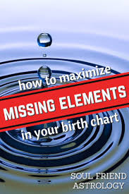 Career Birth Chart How To Maximize Missing Elements In Your Birth Chart