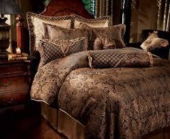 comforter sets fun brown king size comforter set traditional bedroom design with vintage wooden headboard