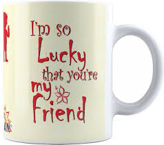 Suvan Friendship Quotes Printed Tea And Coffee For Friend SUWMFRD40 Adorable Tea Quotes Friendship