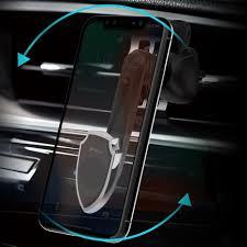 Автомобильный <b>держатель Devia</b> Magnetic Rotate Car Air Vent ...