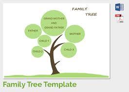 Family Tree Tree Template Family Tree Template Free Download