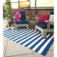 fab habitat hand woven blue white indoor outdoor area rug reviews light and striped
