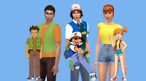 Create a sim - POKEMON - ash ketchum, misty and brock - THE SIMS 4 - My  version - YouTube
