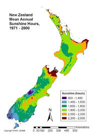 New Zealand Climate Chart Overview Of New Zealands Climate Niwa