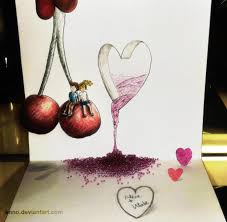 3d Love Sketch At Paintingvalley Com Explore Collection Of 3d Love