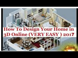 Small Picture How To Design Your Home in 3D Online 2017 URDUHINDIFloor plans