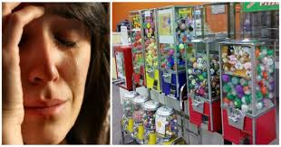 Quarter Vending Machines New California Mother Outraged After Quarter Toy Machine Dispenses Awful