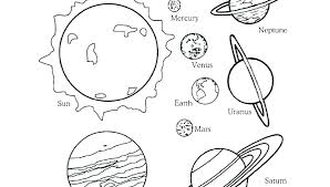Coloring Pages Printables Solar System Coloring Pages Of The Solar