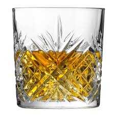broadway crystal old fashioned glasses 10 5oz 300ml