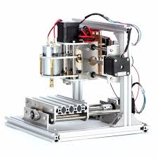 desktop 3 axis diy mini cnc router kit wood engraving hobby pcb milling machine