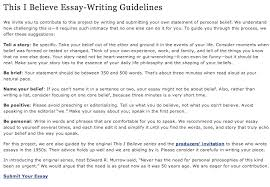 this i believe essays madrat co this i believe essay examples