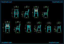 dining chair side elevation cad block. wooden rocking chair autocad drawing, dwg block free download dining side elevation cad