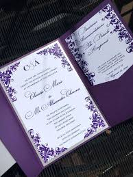 Purple Wedding Invitations Cheap Purple Wedding Invitations By Way