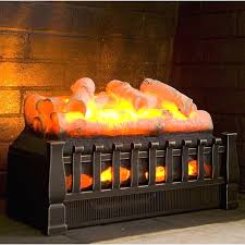 electric fireplace log sets dimplex 20 revillusion set plow hearth