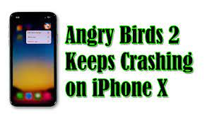 Fixing Angry Birds 2 That Keeps Crashing on iPhone X After iOS 14 - YouTube