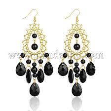 trendy mashan jade golden chandelier earrings for women ejew pje684 1