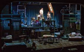 Diary Of Anne Frank Set Design The Diary Of Anne Frank Travis Mchale Lighting Design