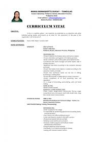 career objective ideas for a resume good career objective resume s alib