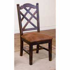 Sunny Designs 1415ro Sunny Designs Santa Fe Double Crossback Chair 1415dc