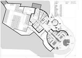 Gallery of Golf Club House La Graiera   BC Estudio Architects   Golf Club House La Graiera Underground Floor Plan