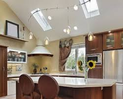 kitchen kitchen track lighting vaulted ceiling. New Track Lighting In Vaulted Ceiling Www Energywarden Net For @track Kitchens Kitchen E