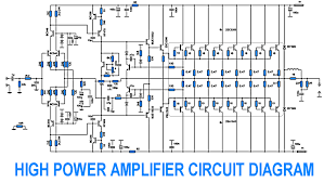 700w power amplifier 2sc5200 2sa1943 other project s circuit schematic electronics power amplifier