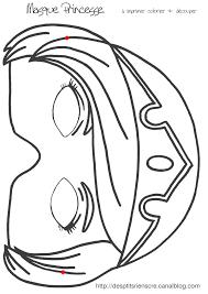 Masque Princesse Imprimer Masques Deguisements Pinterest