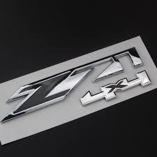 All Chevy black chevy emblems : Online Shop Z71 4x4 Emblem Badge Decal Sticker ABS Red/Black Fit ...
