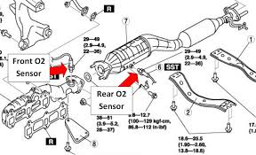 oxygen sensor location. rx8- where is the rear o2 sensor and how do i change it?-rx8_o2- oxygen location v