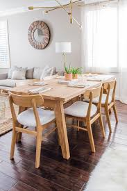 Light Wood Dining Table Chairs Madera Oak Dining Table For 6 Oak Dining Table Wooden