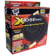 garden hoses at home depot. Wonderful Garden DAP XHose Pro 34 In Dia X 50 Ft Expandable Throughout Garden Hoses At Home Depot