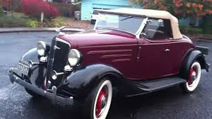 1934 Chevrolet DC Standard Sport Roadster - 10/27/2012 - YouTube